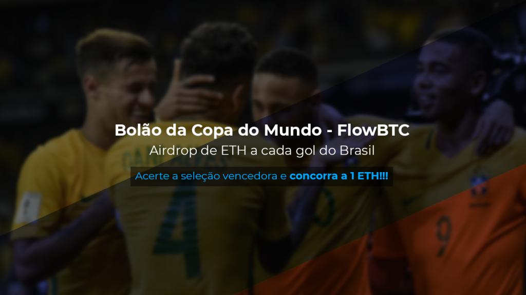 Sorteio de 1 Ethereum da FlowBTC