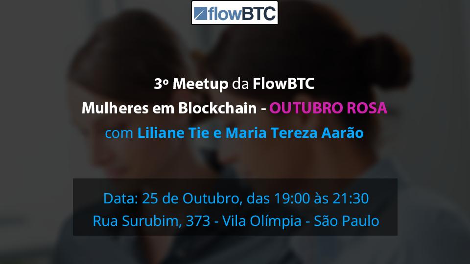 Meet up Blockchain Criptomoedas