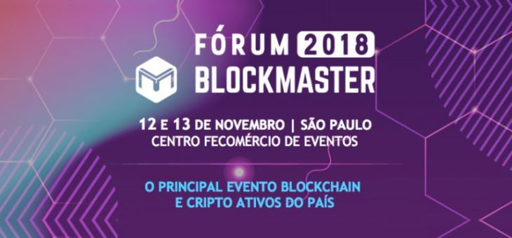 Marcelo Miranda, CEO da FlowBTC, participa do Fórum Blockmaster 2018