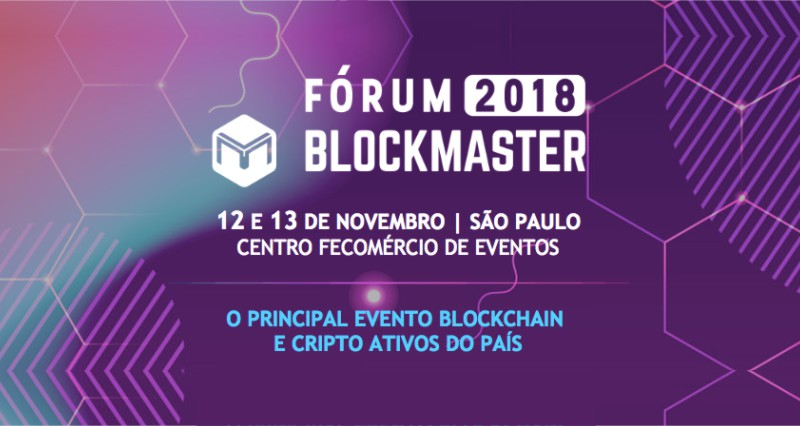 Marcelo Miranda, CEO da FlowBTC, participa do Fórum Blockmaster 2018