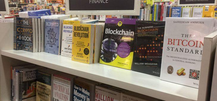 Top 5 livros sobre Blockchain e Criptomoedas